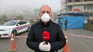 Maltepe köyü, koronavirüs nedeniyle karantinaya alındı