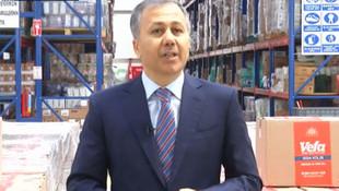 İstanbul'da gıda yardımı başladı