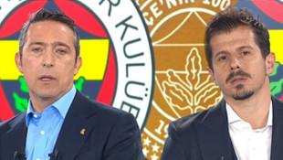 Fenerbahçe Kulübü Başkanı Ali Koç ve kaptan Emre Belözoğlu'ndan destek çağrısı