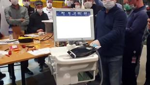 Yerli solunum cihazı ilk kez ortaya çıktı