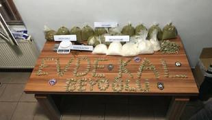 İstanbul'da 1.5 milyon liralık uyuşturucu yakalandı