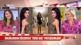 Seda Akgül ile Ebru Polat arasında ''şişme bebek'' gerginliği
