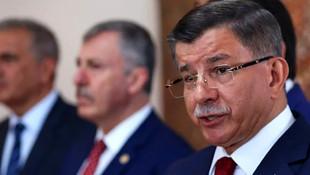 Ahmet Davutoğu'ndan Erdoğan'a: ''Burada bir terslik yok mu ?''
