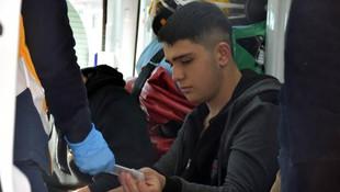 Sivas'ta 22 öğrenci hastanelik oldu