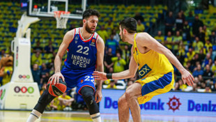 ÖZET   Maccabi FOX 77 -75 Anadolu Efes (THY Avrupa Ligi)