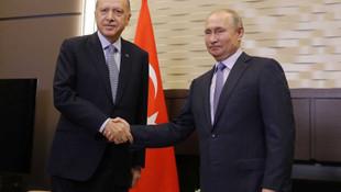 Erdoğan-Putin görüşmesi öncesi dikkat çeken çanta