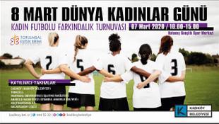 Cadıköy Kadınlar Günü için Kadıköy'de sahnede olacak