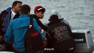 Sığınmacılardan yeni taktik: ''Yüzerek geçiyorlar''