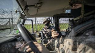 Özel harekat polisleri Yunanistan sınırında