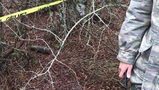 Ormanda bulunan tank mermisi kontrollü imha edildi