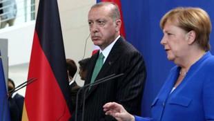 Cumhurbaşkanı Erdoğan Alman mevkidaşıyla görüştü