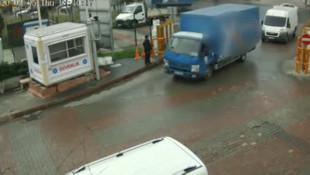 İstanbul'da filmleri aratmayan soygun anı kamerada