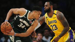 NBA'de liderlerin mücadelesinde kazanan Los Angeles Lakers