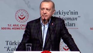 Erdoğan'dan Yunanistan'a çağrı: ''Sen de kapıları aç''