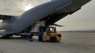İtalya ve İspanya'ya gönderilen yardım malzemeleri Ankara'dan havalandı!