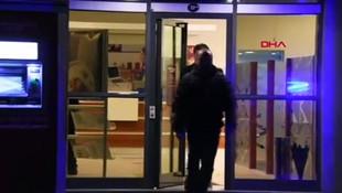 İzmir'de banka şubesine soygun girişimi