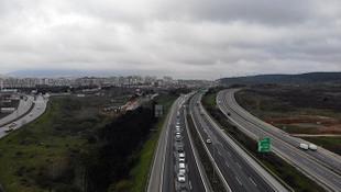 İstanbul'da koronavirüs kontrol trafiği böyle görüntülendi