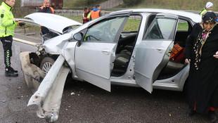 Anadolu otoyolunda üst üste korkunç kaza