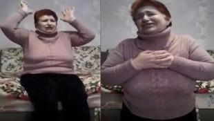 Ukrayna'da koronavirüsü bulaştıran ilk kadın böyle yalvardı