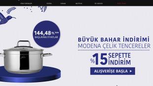 Jumbo'dan sepette yüzde 15 indirim fırsatı