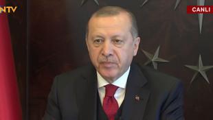 Erdoğan: ''Sosyo-ekonomik bir krizle karşı karşıyayız!''