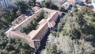 Tarihi Hadımköy Askeri Hastanesi salgın hastanesi oluyor