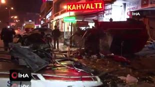 İstanbul'da korkunç kaza! Mağazaya daldı