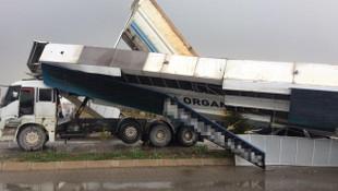 Yine damperli kamyon kazası!