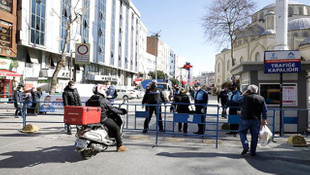 İstanbul'da tedbirler kapsamında 8 nokta yayalara kapatıldı