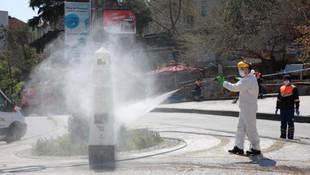İBB ekipleri tüm İstanbul'u dezenfekte etti