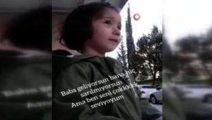 Sağlık çalışanı babasına sarılamayan çocuğun konuşmaları yürek burktu