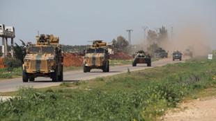 İdlib'te 4. ortak devriye yapıldı