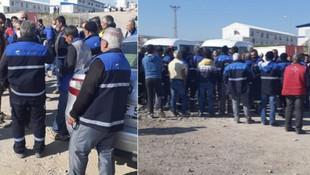 İşçilerin emek isyanı: Toplu grev başlattılar !