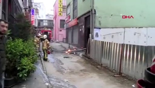Beyoğlu'nda iş hanında yangın: 1 ölü