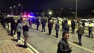 Antalya'da dansözlü alkollü partiye polis baskını