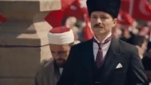 TRT'nin dizisinde dikkat çeken Atatürk sahnesi