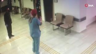 Doktorların ''ben bu hastaya bakmam'' kavgası kamerada!