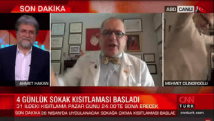 Canlı yayında Prof. Çilingiroğlu şov devam ediyor