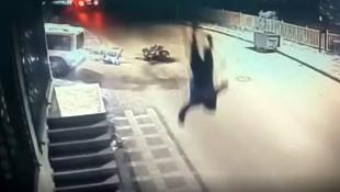 İstanbul'da korkunç kaza kamerada!