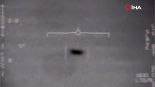 Pentagon çok tartışılan UFO görüntülerini yayınladı!