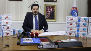 AK Partili belediyeden ABD'ye ''maske'' yardımı