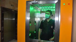Virüs ve bakterileri temizleyen kabin üretildi !