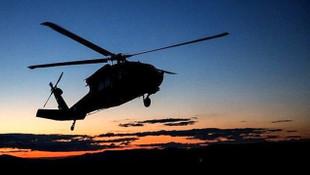 Akdeniz'de askeri helikopter kayboldu !