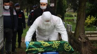 Koronavirüs ölümlerinde Türkiye'den en acı fotoğraf