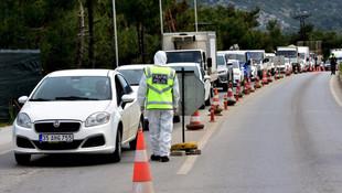 Bodrum'a 25 günde 125 bin araç giriş yaptı !