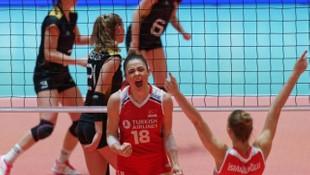 Filenin Sultanları: Türkiye A Milli Kadın Voleybol Takımı, Almanya'yı 3-0 yenerek Olimpiyat vizesi aldı