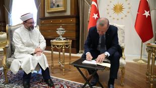 Olay olacak iddia: 'Erdoğan, Diyanet İşleri Başkanı'nı görevden alıyordu!''