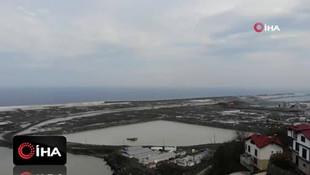 Rize-Artvin Havalimanı inşaatı hız kesmeden devam ediyor