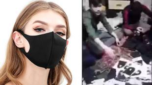 Nano teknoloji'' diye satılan maskeleri böyle hazırladılar