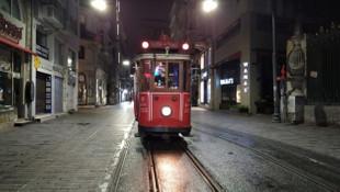 Beyoğlu Nostaljik Tramvay son seferini yaptı